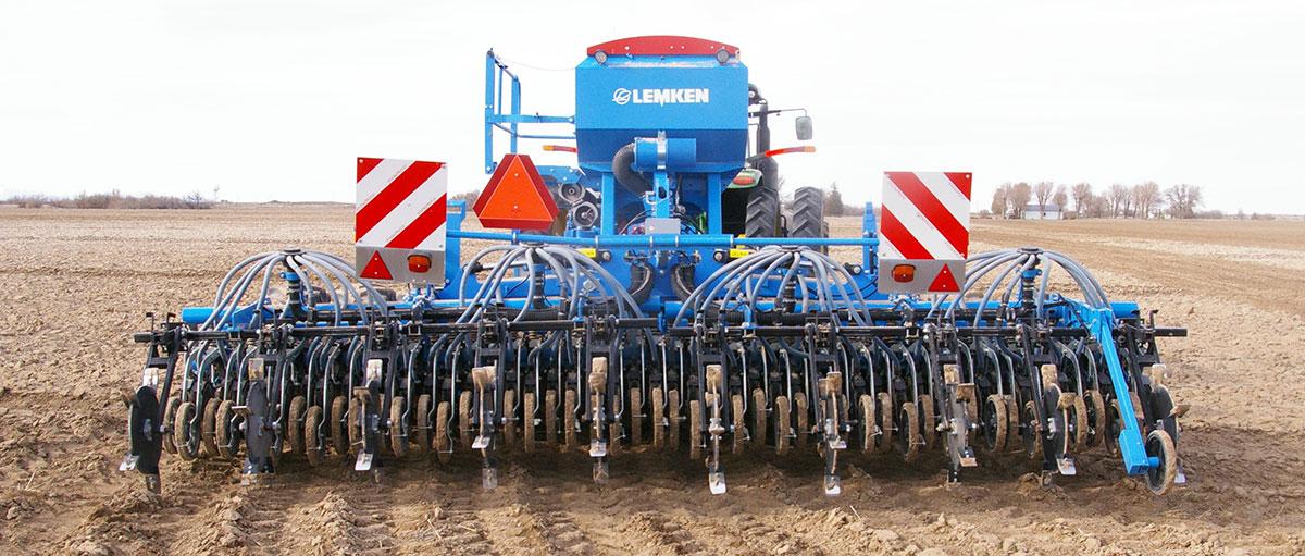 Lemkin Grain Drill